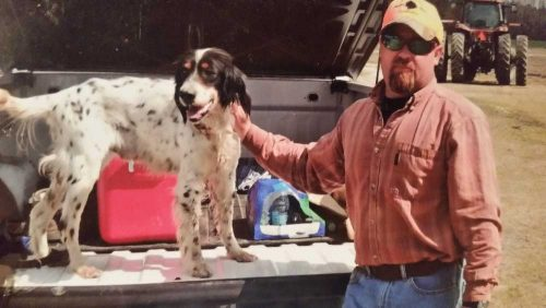 Brad Gurganus Hunting Dog